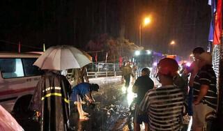 Xe tải gây tai nạn khiến 1 người tử vong, 1 nạn nhân khác bị
