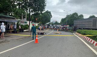 Sau tai nạn chết người, ô tô phóng khỏi hiện trường
