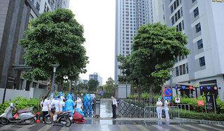 Hà Nội: Phong toả 4 toà nhà với gần 6.000 dân cư tại khu đô thị Goldmark City