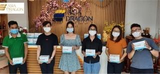 Asia Dragon tặng 20.000 khẩu trang y tế