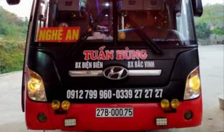 Thông báo khẩn tìm người đi trên xe khách Tuấn Hùng tuyến Nghệ An – Điện Biên