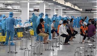 Hơn 300 công nhân tại Bắc Giang dương tính SARS-CoV-2, Bộ Y tế họp khẩn