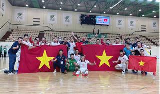 Giành vé dự World Cup, ĐT futsal Việt Nam được VFF thưởng lớn