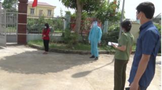 Cô gái là F1 bỏ trốn khỏi khu cách ly ở Điện Biên đi về Hà Nam