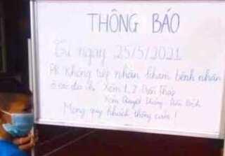 Nghệ An: Xử phạt hành chính phòng khám có thông báo không tiếp nhận người ở địa phương bị giãn cách