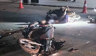 Thanh Hóa: 2 xe máy đối đầu trực diện trong đêm, 4 người thương vong