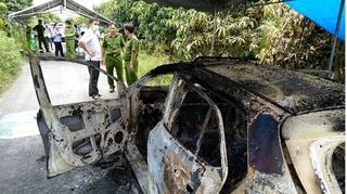 Bộ xương người cháy khô trên xe taxi ở An Giang: Diễn biến