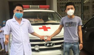 """Chàng trai Quảng Bình tình nguyện đưa xe cứu thương ra Bắc Giang hỗ trợ chống dịch: """"Ba, mẹ đừng lo, hết dịch con về"""""""