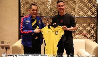 Malaysia triệu hồi sao châu Âu quyết đấu tuyển Việt Nam