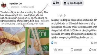 """Phạt người đăng tin cán bộ """"ăn chặn"""" suất ăn của người cách ly ở Bắc Giang"""
