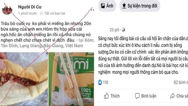 Phạt người đăng tin cán bộ ăn chặn suất ăn của người cách ly ở Bắc Giang