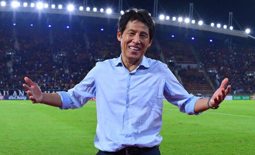 HLV Nishino quyết tâm đưa Thái Lan vào vòng loại 3 World Cup