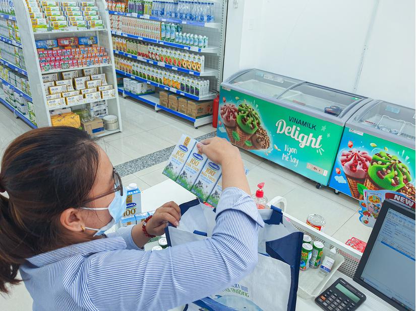 Giấc mơ sữa Việt, giải pháp mua sữa siêu tiện lợi mùa giãn cách