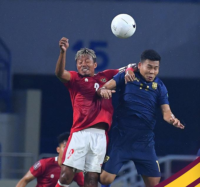 Thái Lan mất điểm trước Indonesia