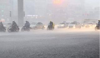 """Thông tin mới nhất về bão số 1 Choi-wan và đợt """"mưa vàng"""" ở miền Bắc"""
