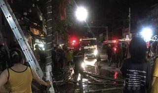 Quảng Ngãi: Lửa bốc cháy dữ dội, 4 người chết, trong đó có người vợ đang mang thai
