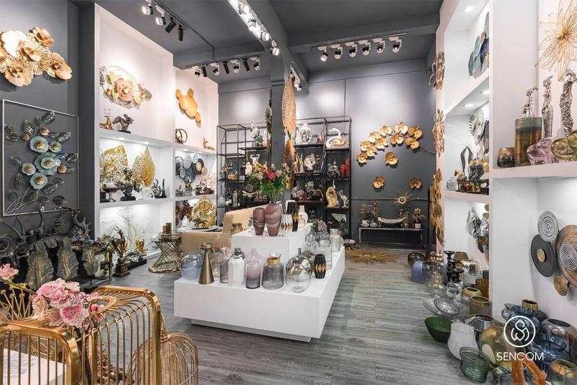 Sencom, Showroom chuyên cung cấp sản phẩm decor nội thất nổi bật nhất hiện nay