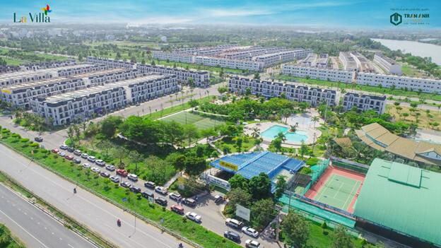 La Villa Green City Khu đô thị trung tâm TP.Tân An sở hữu tổ hợp tiện ích hiện hữu