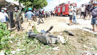 Tai nạn kinh hoàng ở Đắk Lắk khiến 2 người chết, 5 người bị thương