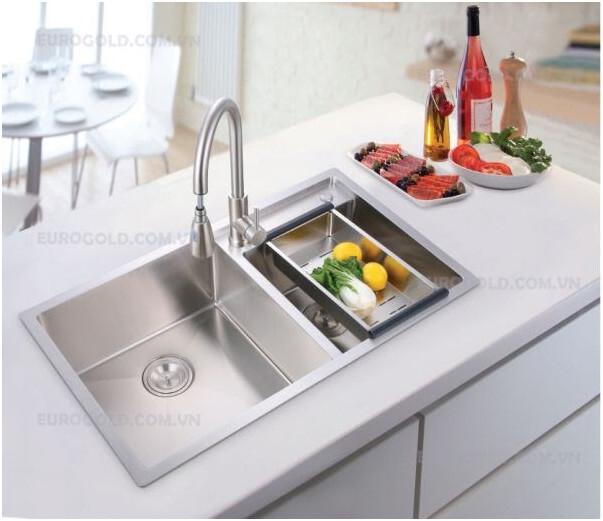 Nâng cấp gian bếp với chậu vòi rửa bát cao cấp EuroGold