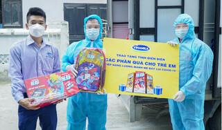 Quỹ sữa vươn cao Việt Nam và hành trình mang sữa đến với trẻ em Điện Biên giữa đại dịch