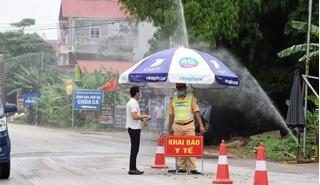 Bắc Giang: Dỡ bỏ cách ly xã hội toàn huyện Lục Nam và Yên Thế