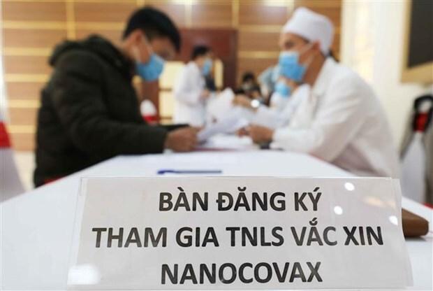 Hơn 6.000 người đăng ký thử nghiệm giai đoạn 3 vắc xin COVID-19 Nano Covax của Việt Nam