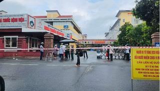 Cán bộ dương tính SARS-CoV-2, tạm phong toả Bệnh viện Đa khoa Hà Tĩnh