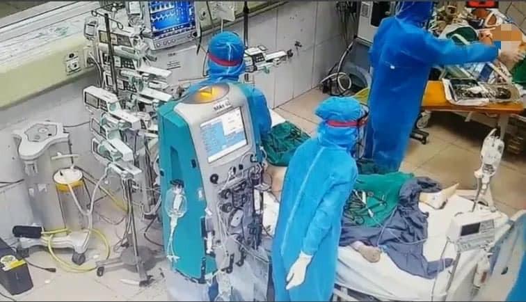 106 ca COVID-19 tiên lượng nặng, 9 ca phải can thiệp tim phổi nhân tạo
