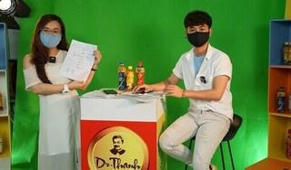 Uống Trà Xanh Không Độ, một nông dân Quảng Ngãi trúng thưởng 100 triệu đồng