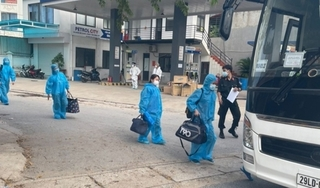 Lạng Sơn đón hơn 1000 công nhân từ Bắc Giang trở về quê hương