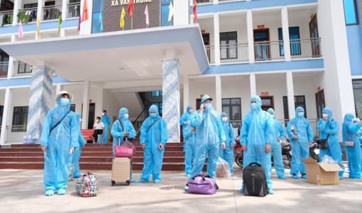 16 tỉnh, thành sẵn sàng đón gần 15.000 lao động trở về từ Bắc Giang