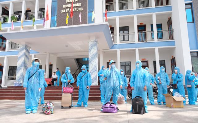 16 tỉnh, thành sẵn sàng đón gần 15.000 lao động từ Bắc Giang trở về