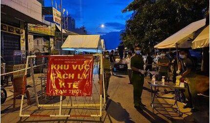 Liên tục phát hiện ca mắc Covid-19, phong tỏa chung cư Ehome 3 Bình Tân hơn 7000 cư dân