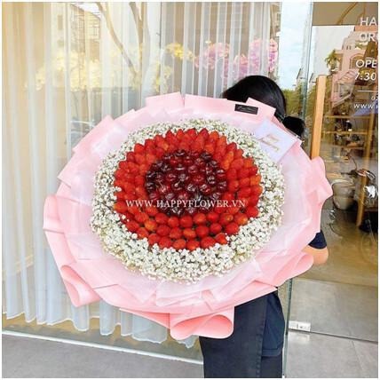 Hiện thực hóa yêu thương cùng hoa ăn được của Happy Flower