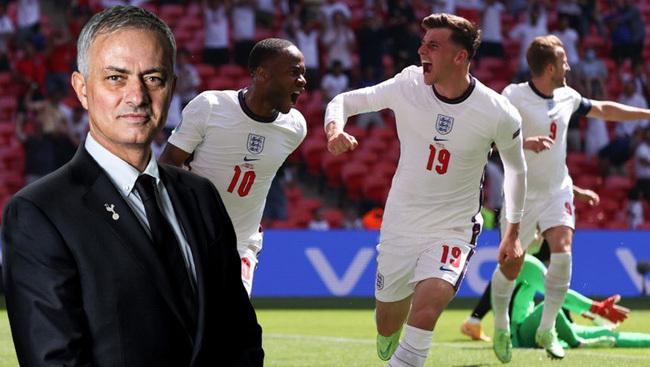 Mourinho chọn tuyển Anh vô địch EURO 2020