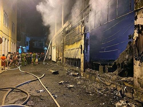 Danh tính 6 nạn nhân tử vong trong vụ cháy phòng trà ở Nghệ An