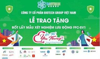 'Bốt lấy mẫu xét nghiệm di động FFC' bản quyền Việt Nam