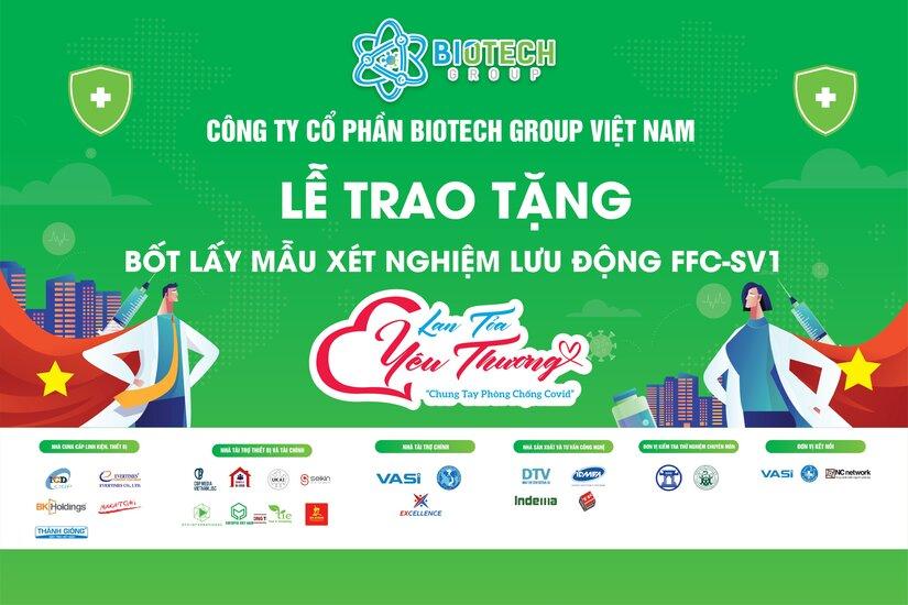 Bốt lấy mẫu xét nghiệm di động FFC bản quyền Việt Nam