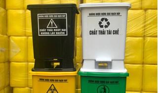 Màu sắc của thùng rác y tế nói lên điều gì?