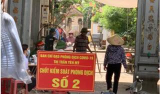 Hưng Yên thực hiện giãn cách xã hội ở huyện Yên Mỹ sau các ca mắc COVID-19 mới