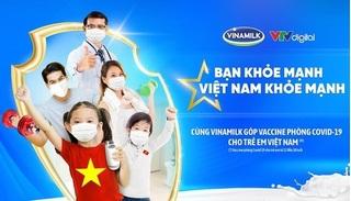 """Vinamilk khởi động chiến dịch """"Bạn khỏe mạnh, Việt Nam khỏe mạnh"""" nhân dịp 45 năm thành lập với nhiều hoạt động ý nghĩa"""