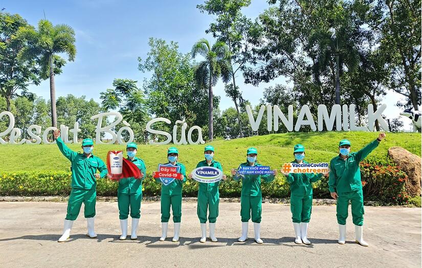 Vinamilk khởi động chiến dịch Bạn khỏe mạnh, Việt Nam khỏe mạnh nhân dịp 45 năm thành lập với nhiều hoạt động ý nghĩa