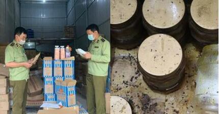 Phát hiện hàng tấn nguyên liệu trà sữa không rõ nguồn gốc