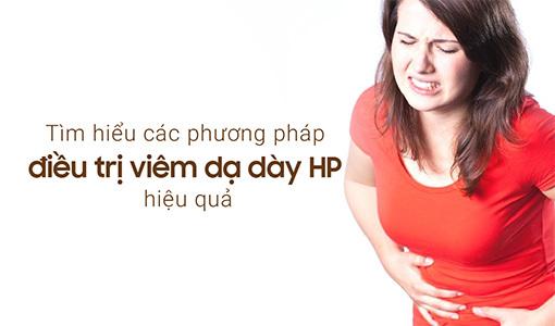điều trị viêm dạ dày HP