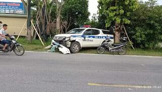 Xác định danh tính tài xế vụ nữ sinh tử vong sau va chạm với xe tuần tra của CSGT
