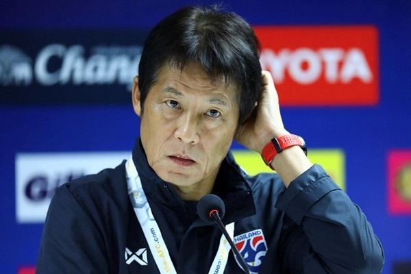 Liên đoàn bóng đá Thái Lan sẵn sàng sa thải ông Nishino