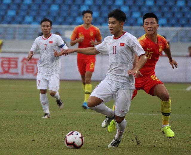 Tuyển Trung Quốc đang rất háo hức được gặp Việt Nam