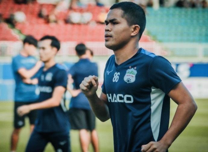 Dụng Quang Nho chia tay HAGL gia nhập Hải Phòng FC