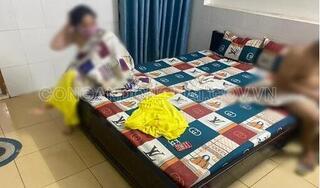 Bắt quả tang thanh niên trẻ đang mua dâm phụ nữ U50 trong nhà nghỉ